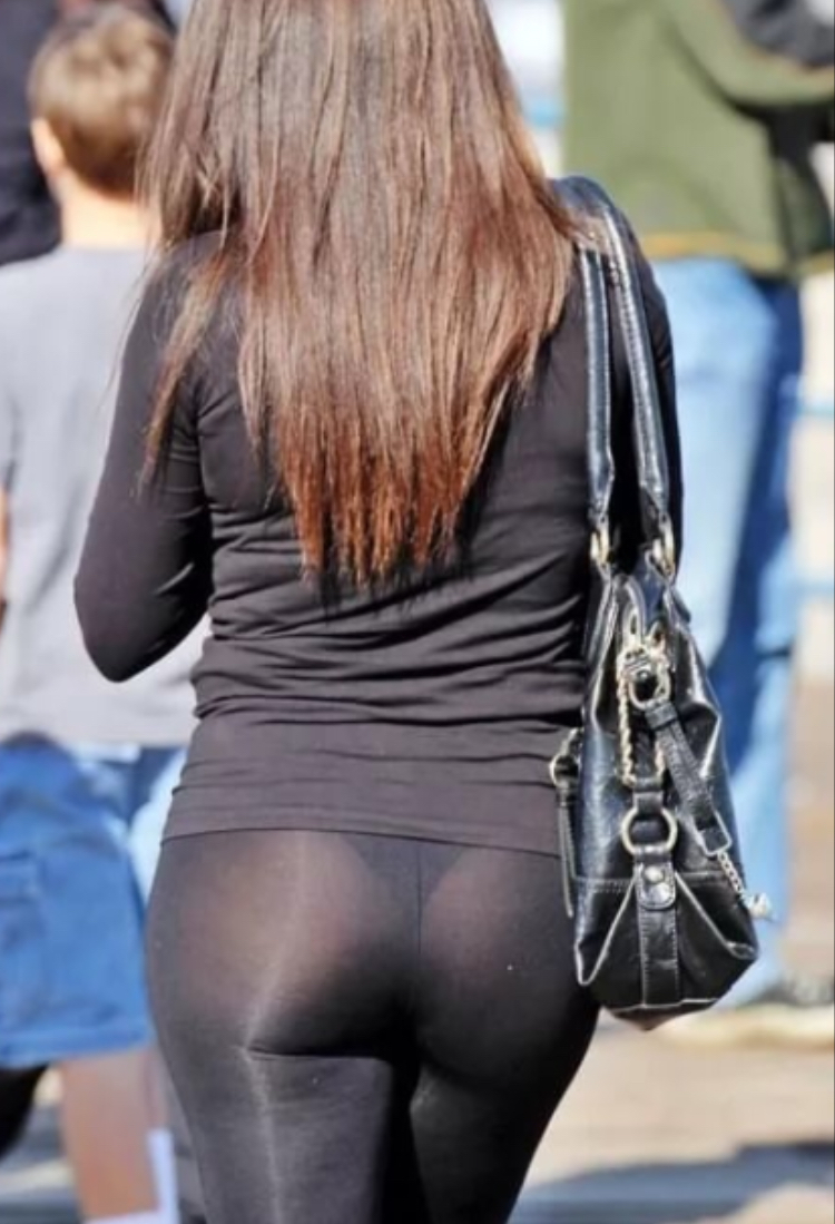 See through pants anal #11