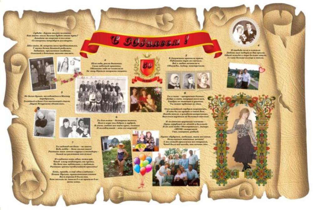 картинки для оформления газеты на юбилей