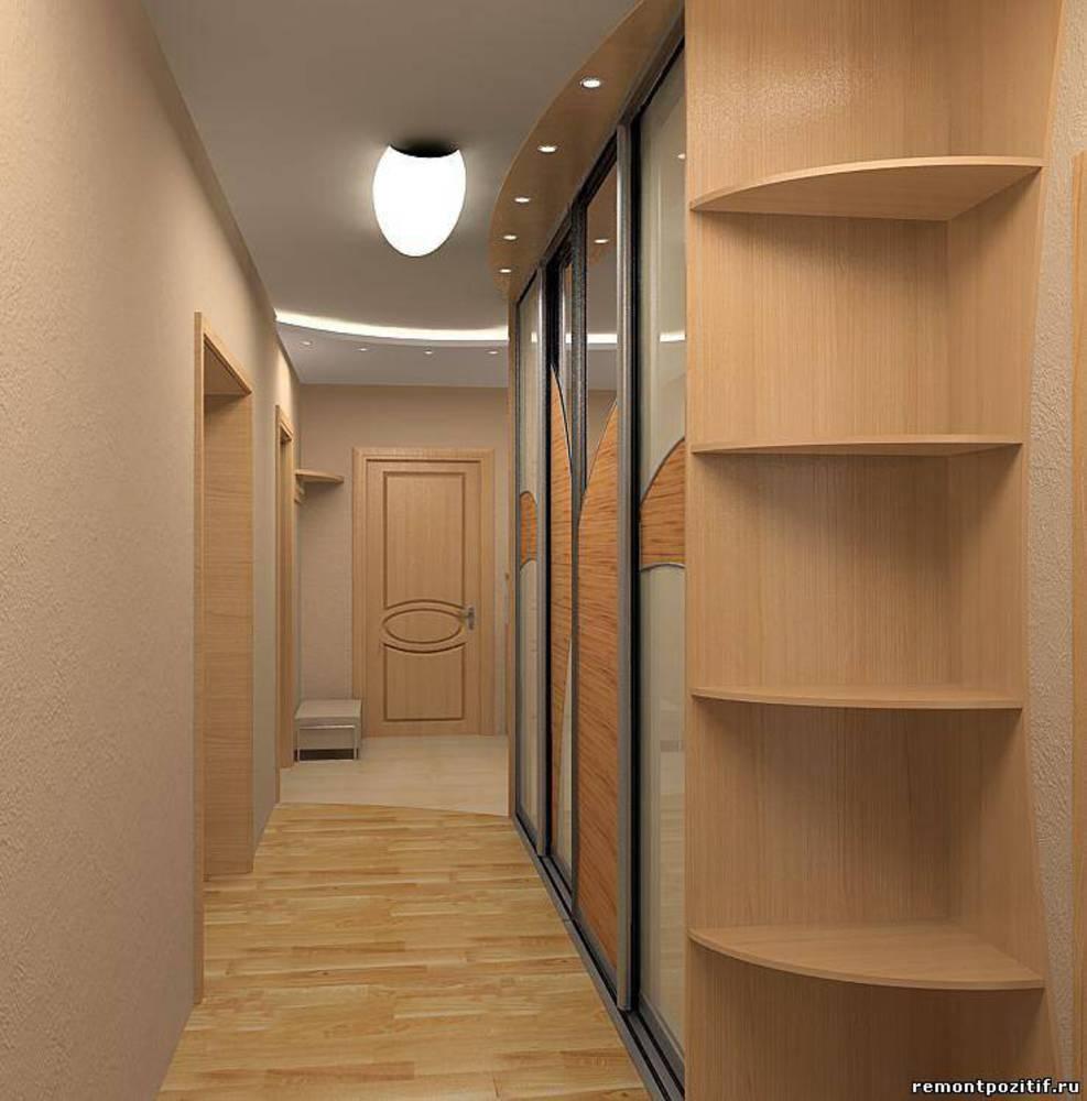 Дизайн длинного коридора, 96 фото - этотдом.