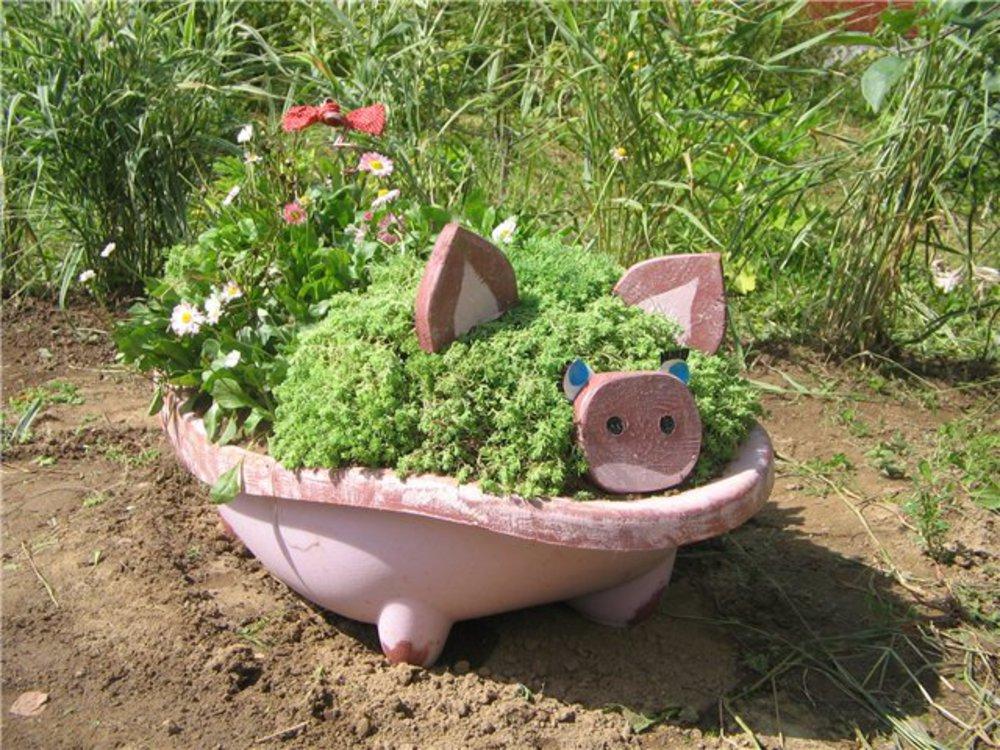 красивые фигуры для сада своими руками