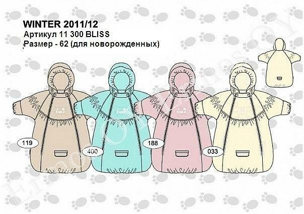 Как сшить комбинезон мешок для новорожденных 7