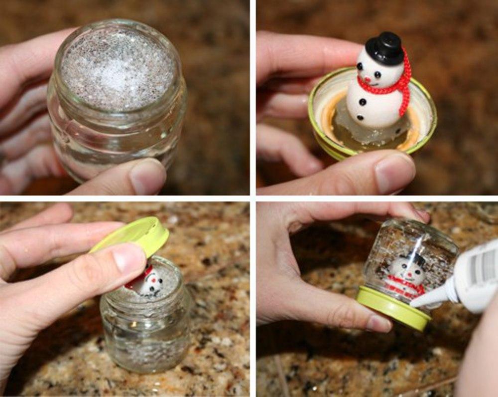 Снежный шар своими руками из глицерина и