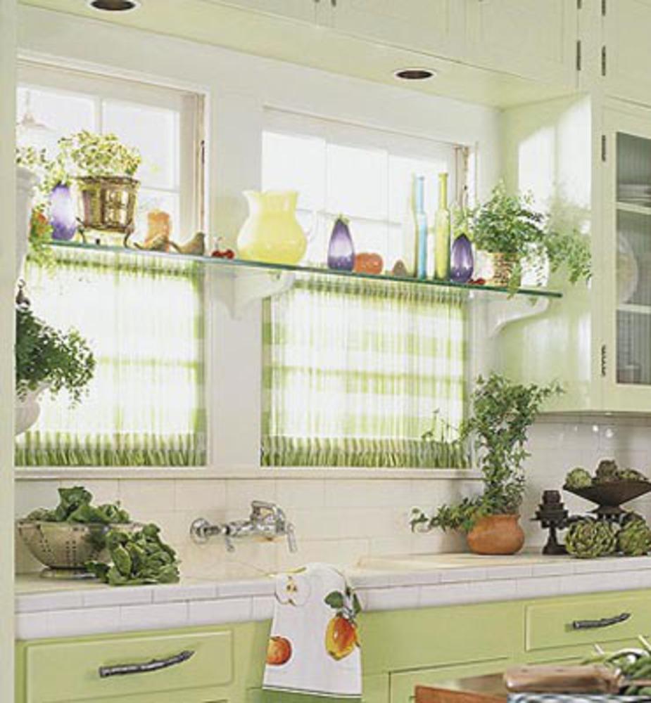 Идеи для интерьера. шторы для кухни..