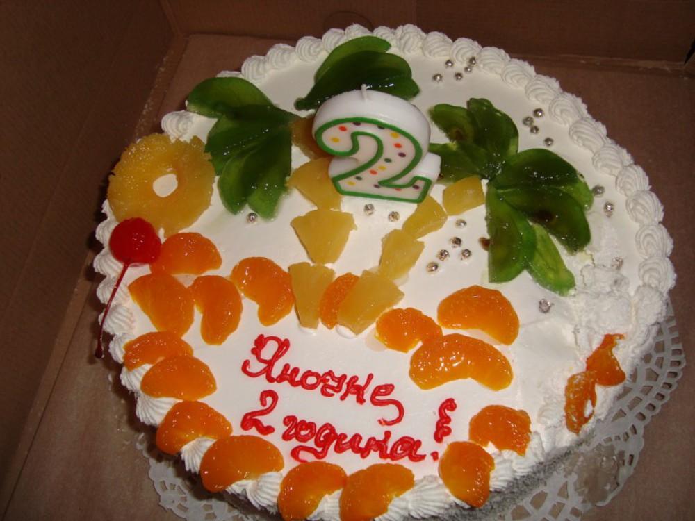 говорить торт в домашних условиях на день рождения Новый Год Собаки