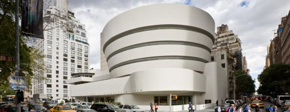 the guggenheim museum Watch video the emailed response from the guggenheim's chief curator to the white house was polite but firm: the museum could not accommodate a request to borrow a painting by vincent van gogh for president and melania trump's private living quarters instead, wrote the curator, nancy spector, another piece.
