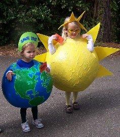 Костюм планеты земля из бумаги