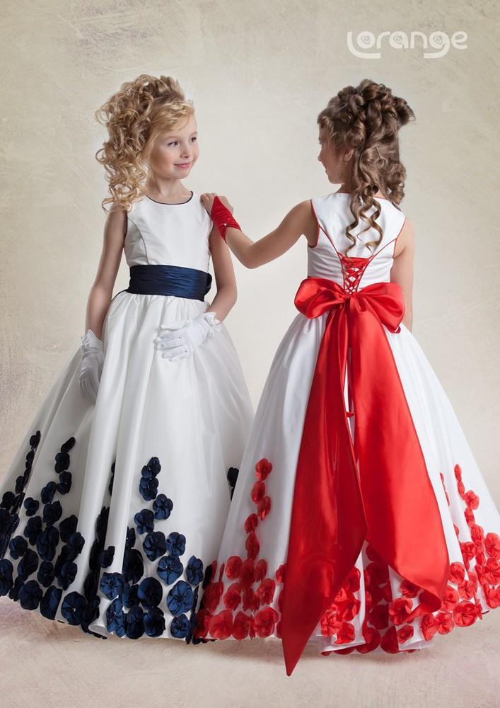 Фото платья на выпускной детский сад