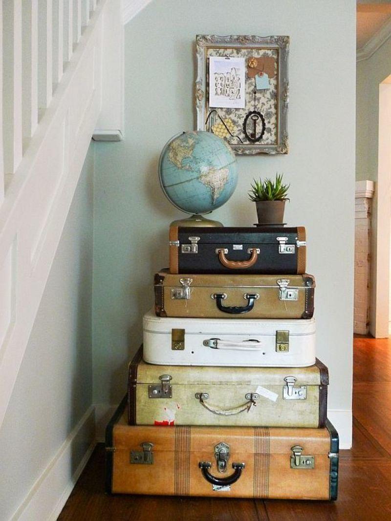Переделка старых чемоданов своими руками