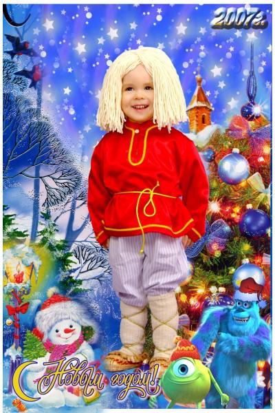 Домовенок кузя костюм новогодний своими руками