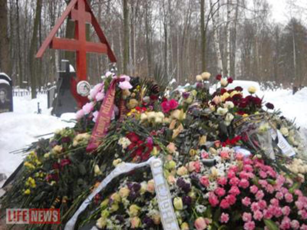 Анна самохина где находится могила