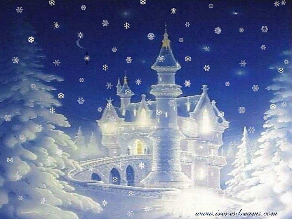 Картинка дворец деда мороза для детей