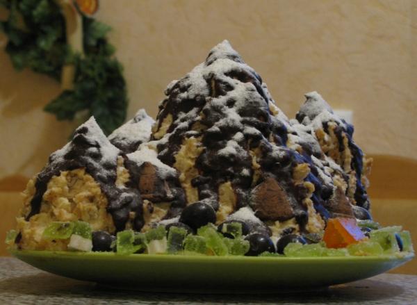 торт уральский фото рецепт