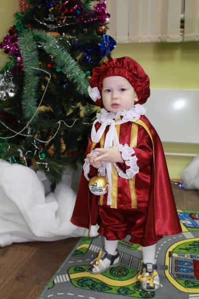 Новогодний костюм принца мальчика своими руками с