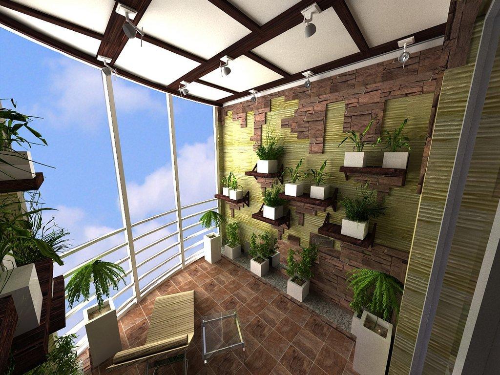 Сад на балконе. / форум.