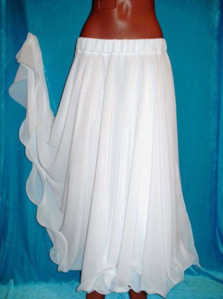 Как сшить шифоновую юбку полусолнцем
