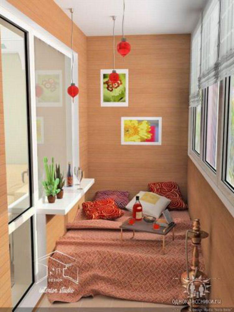 Уютный балкон / разное / все для дома / pinme.ru / pinme.