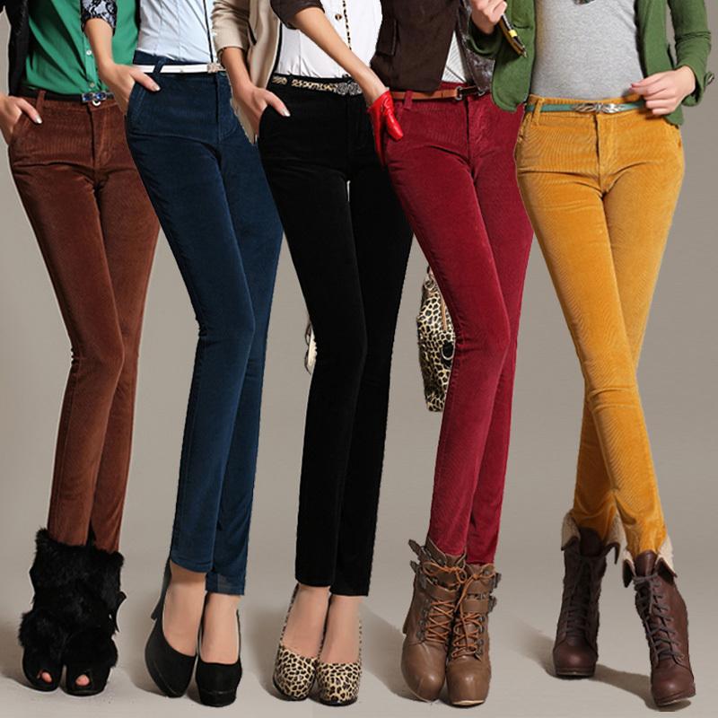 С чем носить бархатный штаны