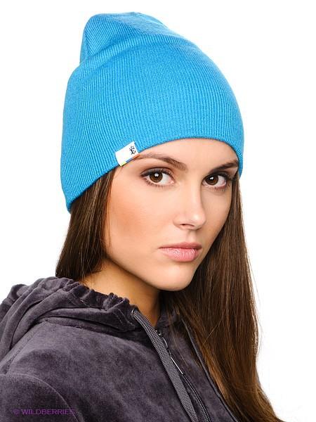 Женская трикотажная шапка