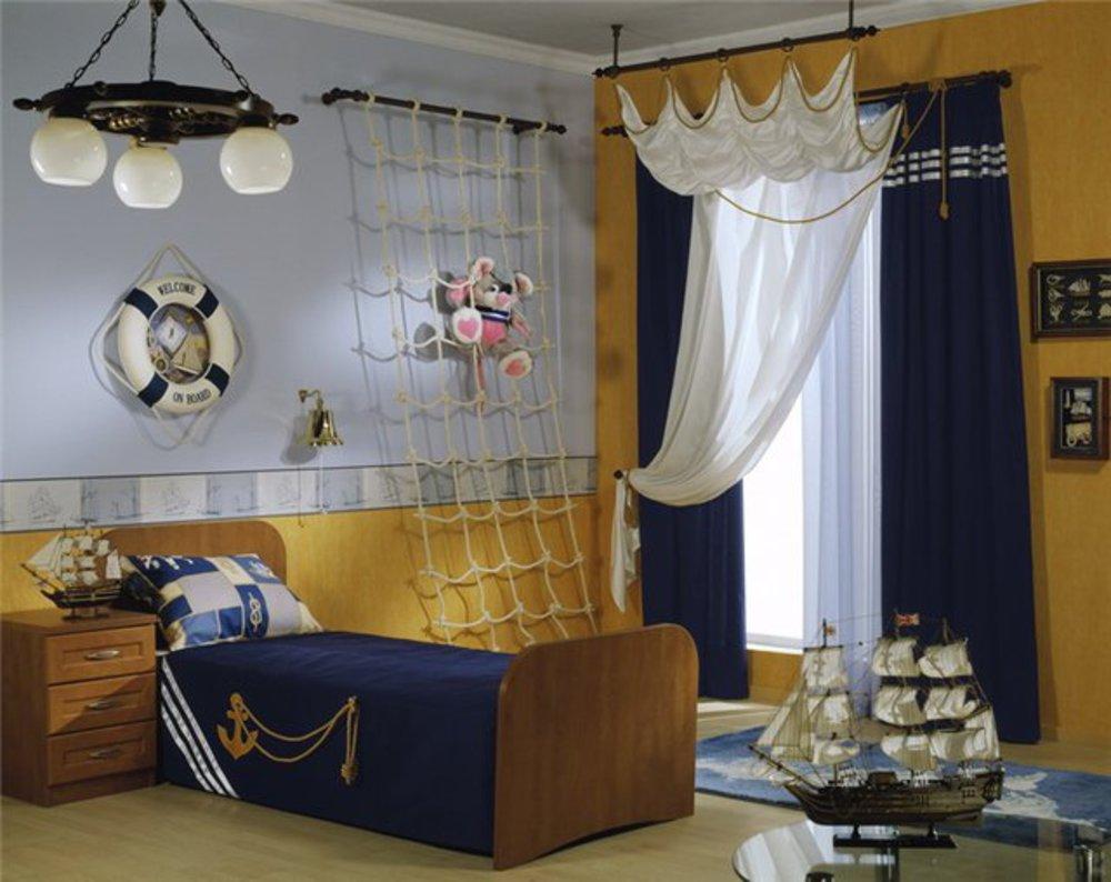 Своими руками комната в морском стиле