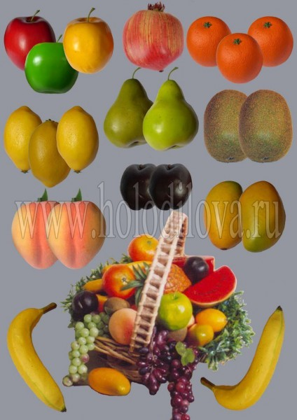 Овощи муляж своими руками