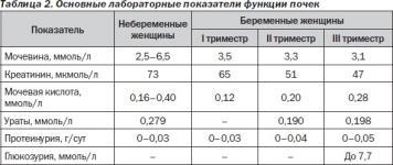 Нормативы анализов крови у беременных