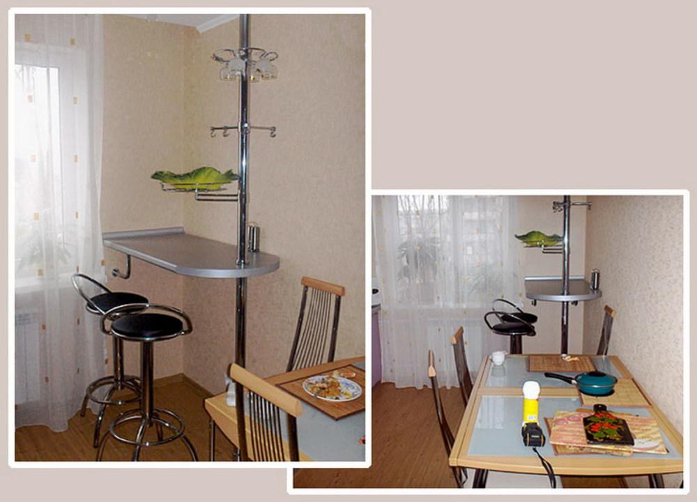 Барный стол для маленькой кухни своими руками 20