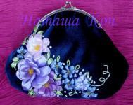 Gallery.ru / Моя первая сумочка с фермуаром - Мои рукоделки с вышивкой! .  - Natakoch.