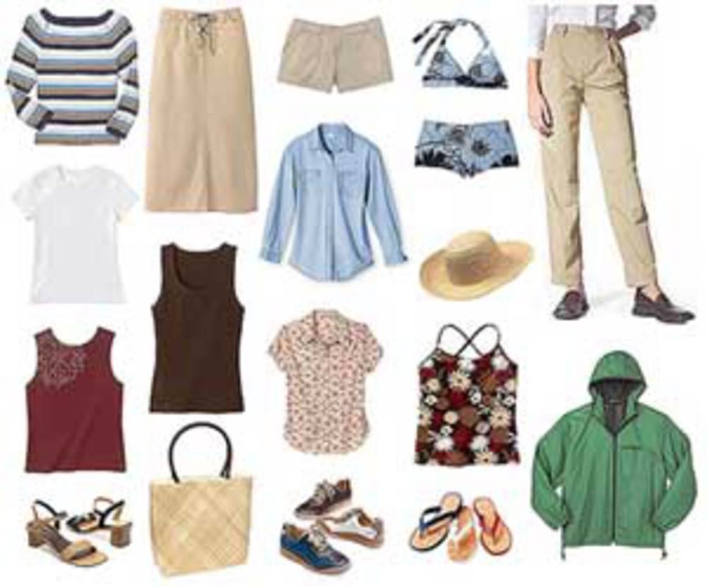 Собрать гардероб для отдыха на море
