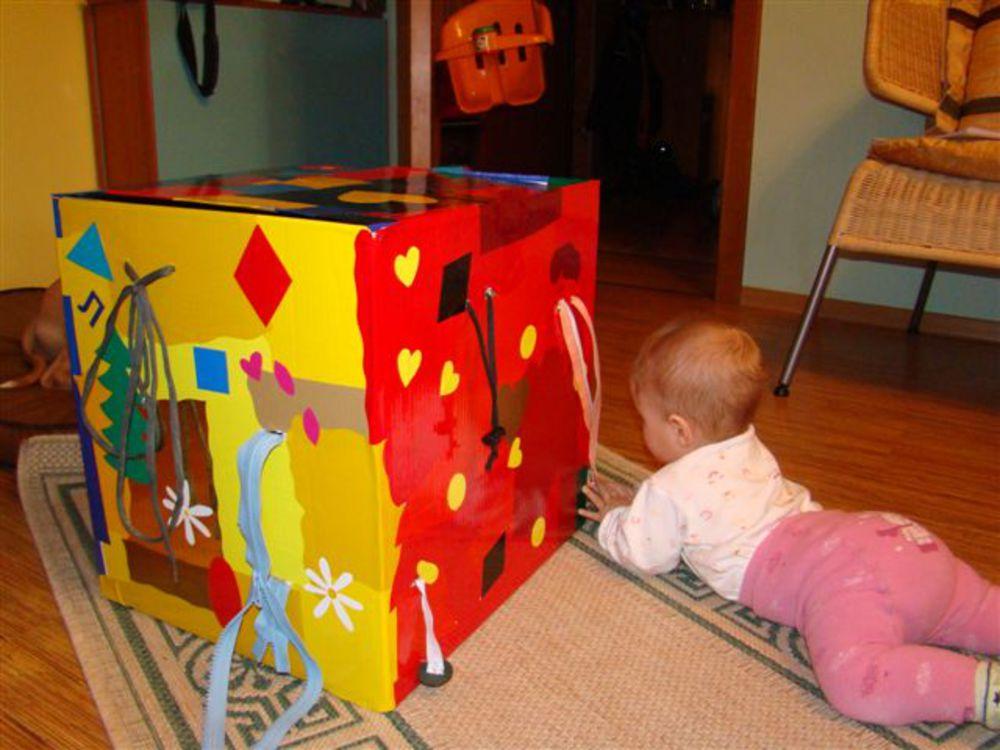 105Развивающая коробка своими руками для детей