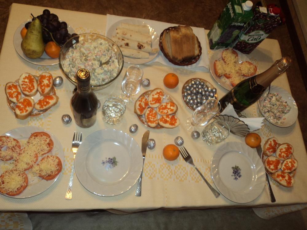праздничный стол форум фото