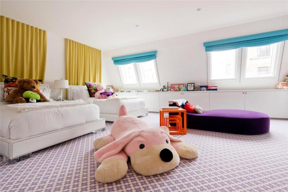 Детская большая комната дизайн