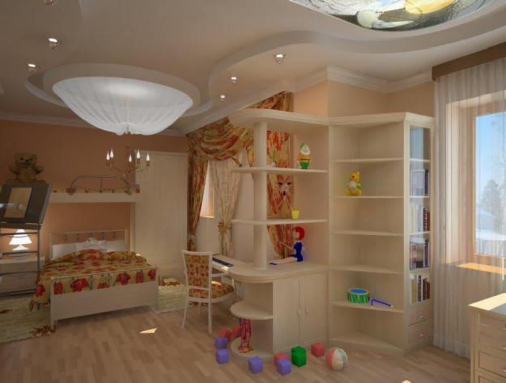 Творческий подход к дизайну детской / форум.