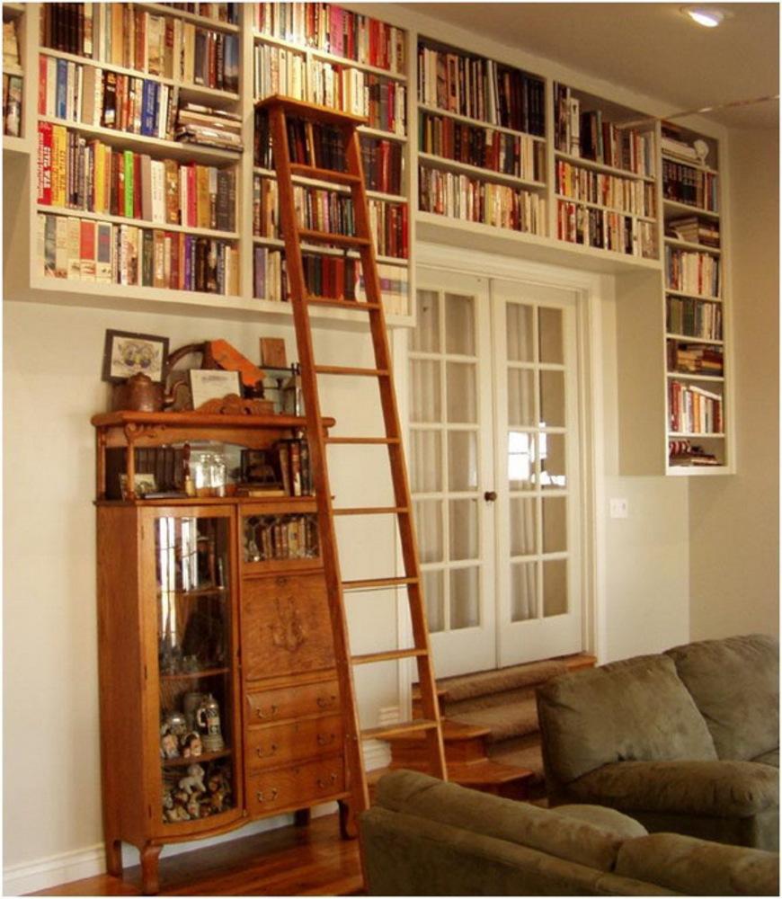 Книжные полки в шкаф своими руками