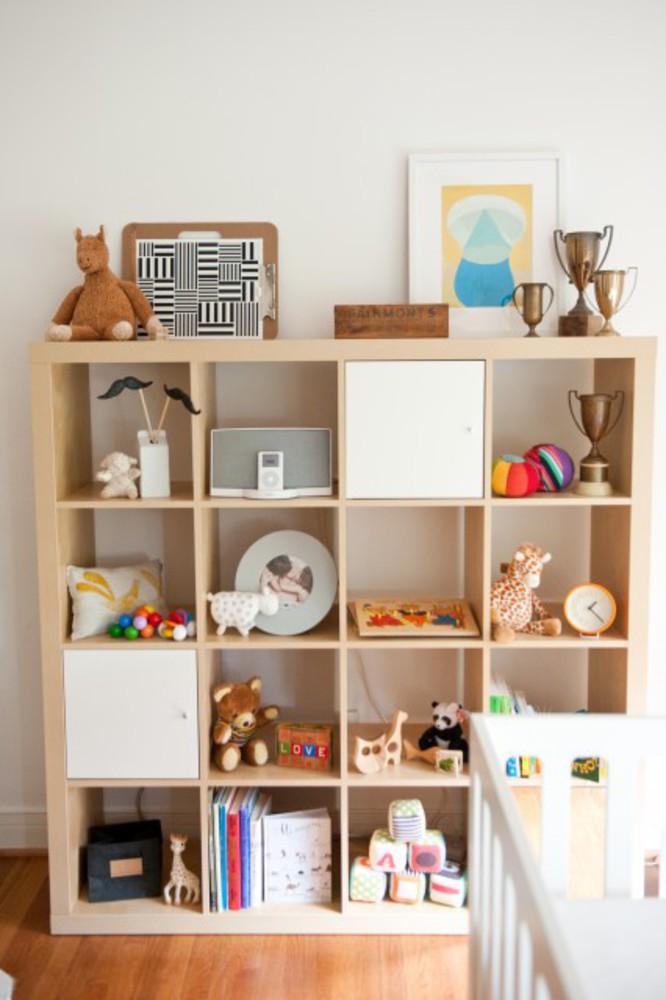 Детские полки для игрушек купить - идеи для дома.