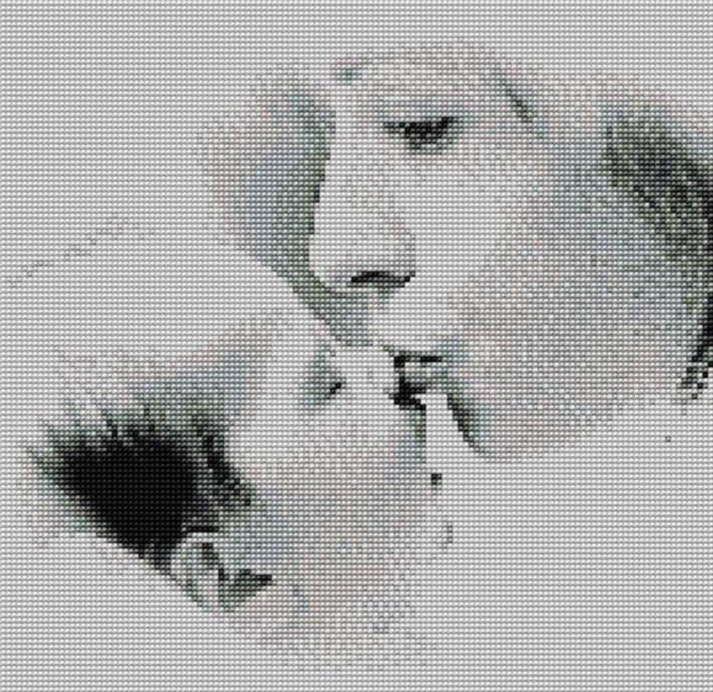 Вышивка поцелуй мамы 97