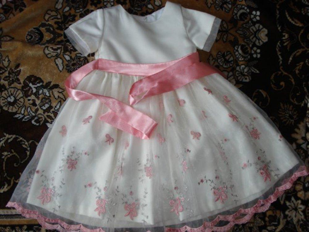 Платье своими руками для девочки на 1 год