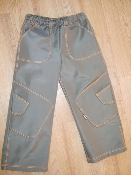 Как сшить детские штаны на резинке из плащевки 71