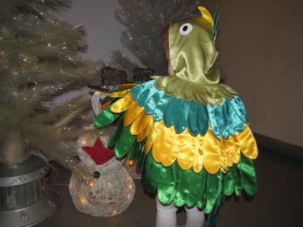 Костюм попугая своими рукам