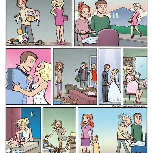 разумеется, Когда бывшие мужья начинают сожалеть что ушли к любовницам молчание