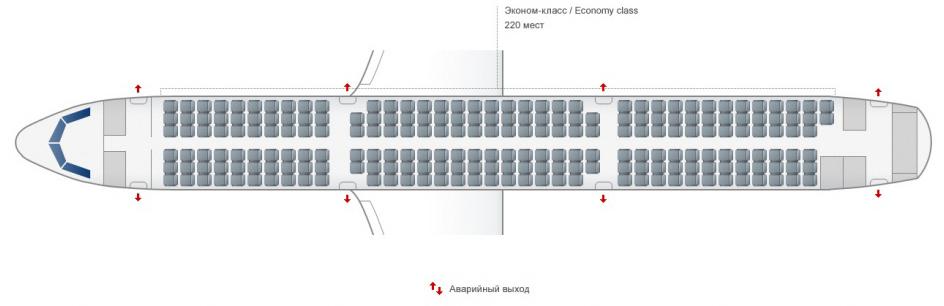 Расположение самолета фотография место д