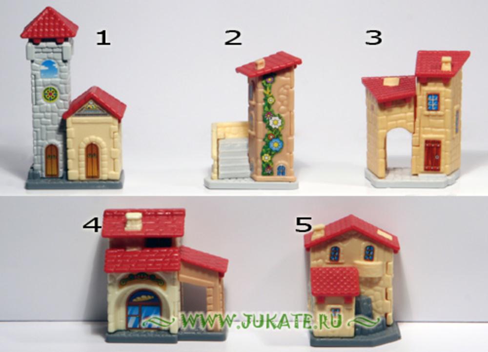 Как сделать домик для игрушек из киндеров 236