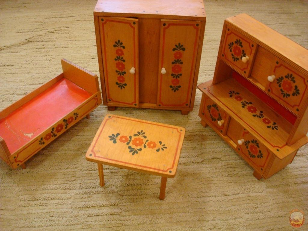 Игрушечная мебель своим руками